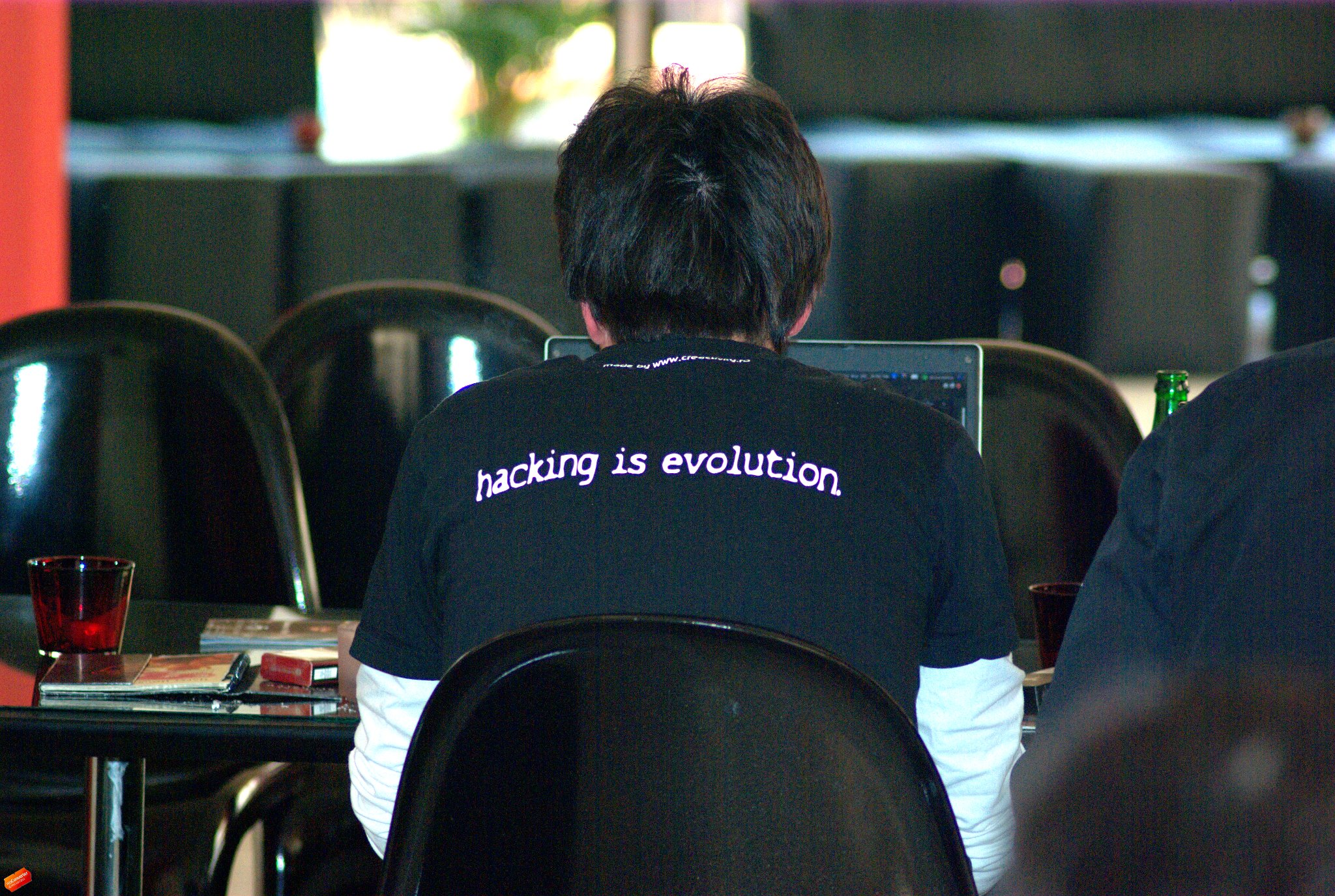 Hacking is evolution! Hacking is not a crime!